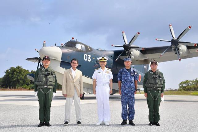 海上自衛隊南鳥島航空派遣隊視察   衆議院議員 河野太郎公式サイト